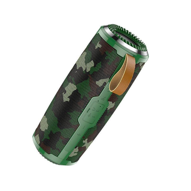 Портативная Bluetooth колонка Hoco BS38 Cool freedom sports Camouflage Green AR-3-11577_4