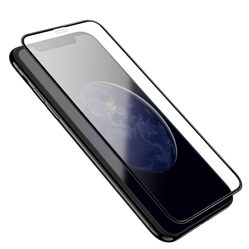 apple Защитное стекло Hoco Full screen curved surface HD 0.2mm (A2) для Apple iPhone Xs Max Black AR-4-9235