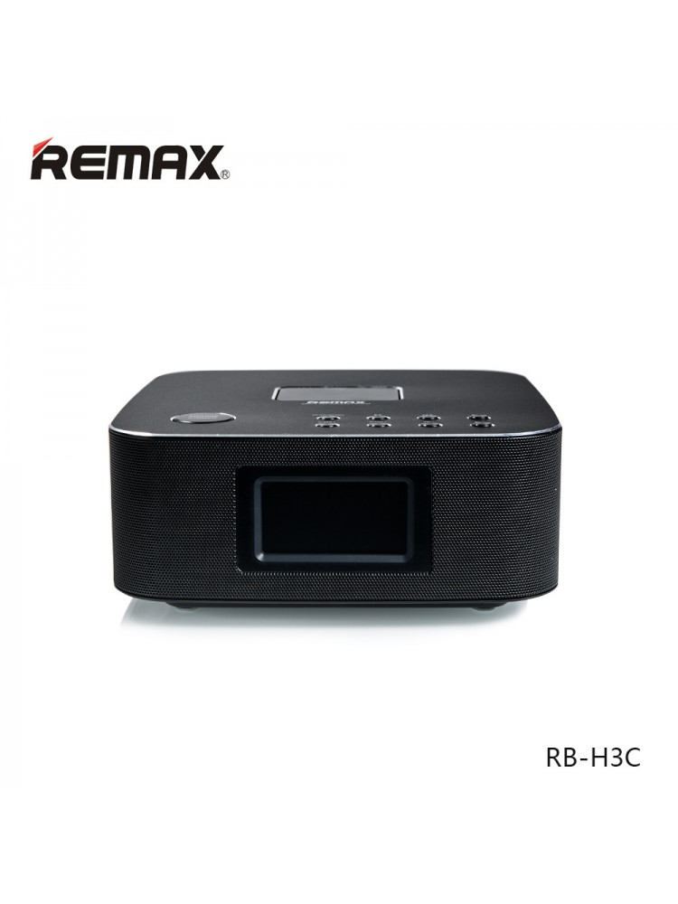 Bluetooth Колонка Remax RB-H3 3 in 1 BT3.0 Speaker with Alarm Clock Black AR-3-00134_1