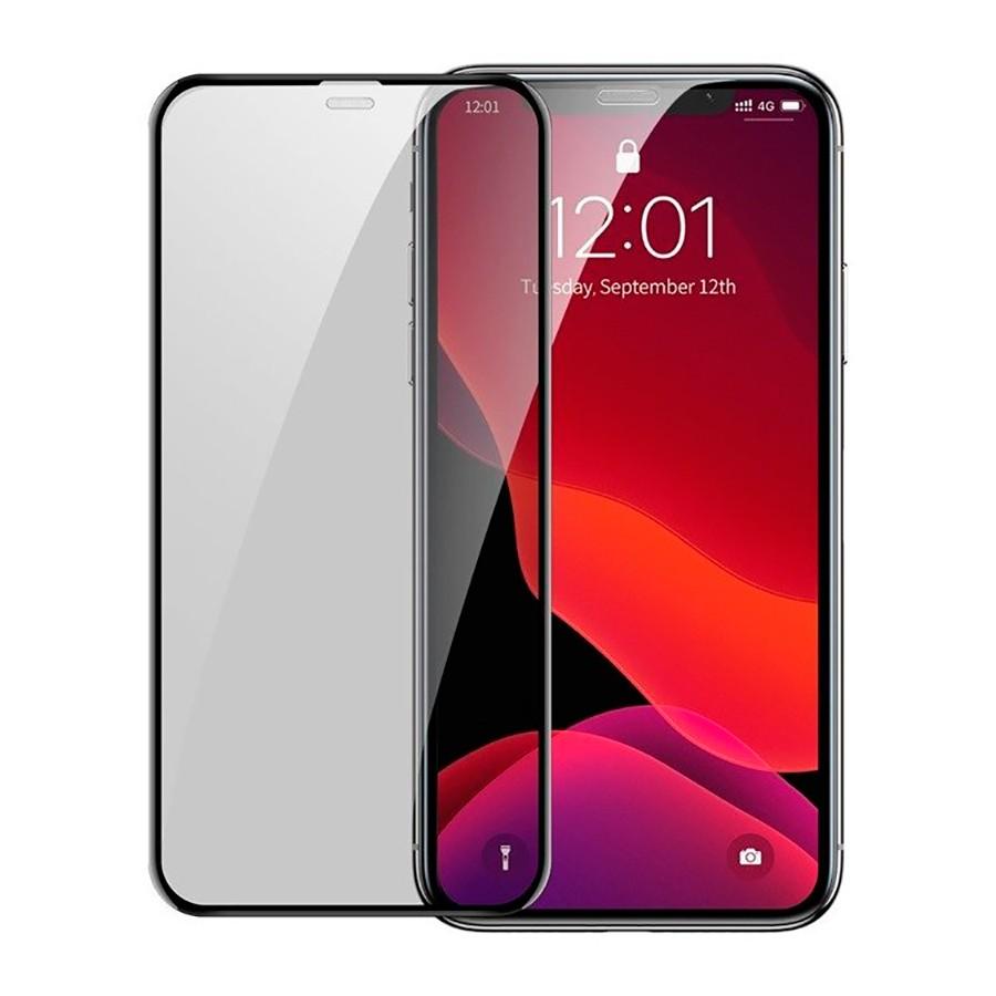apple Защитное стекло Baseus Curved Privacy Tempered Glass Black для Apple iPhone 11 / XR AR-4-9462