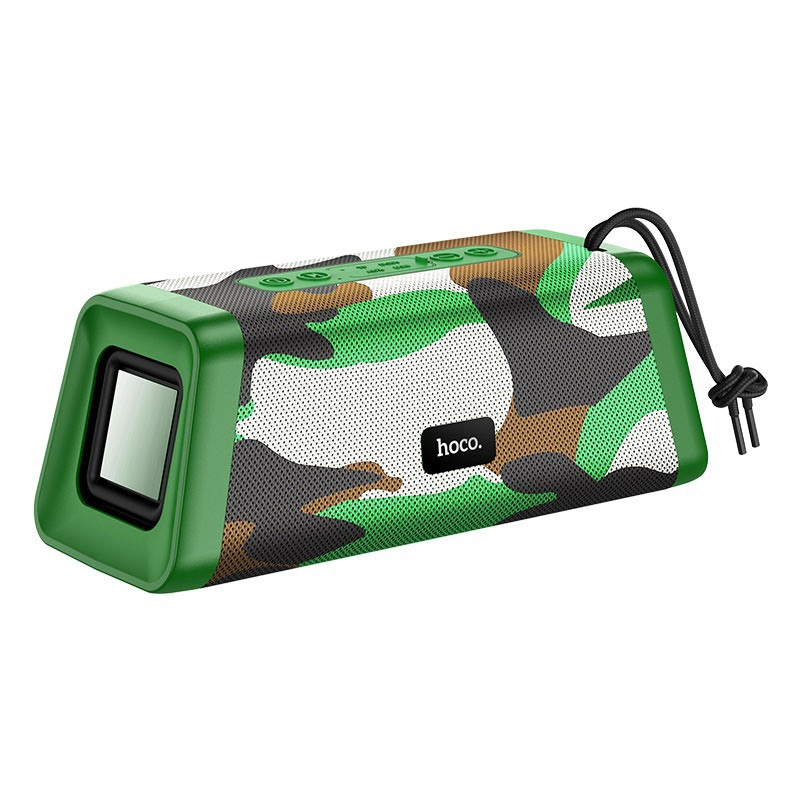 Портативная Bluetooth колонка Hoco BS35 Classic sound sports Camouflage Green AR-3-11522_3